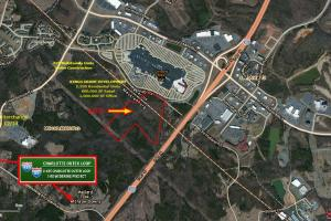 55 Acres Development Land, Concord Mills Mall, Charlotte, NC - Mecklenburg County NC