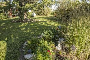 <p>Landscaping creates a relaxed outdoor environment</p>