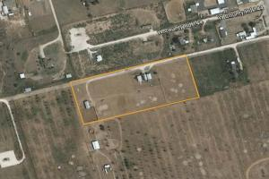 Great Commercial Location with Home, Barns - Midland County TX