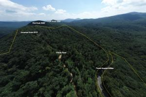 Layered Long Range Views, Paved Access and Privacy - Buncombe County NC