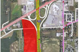 0 Hwy I35 South/Hwy 60 West, Faribault - Parcel 1: Commercial, Development:  MnDot Traffic Count Map (4 of 10)