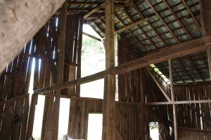 Inside the Hay barn Shelton Laurel Creek Timber and Homestead Land (21 of 22)