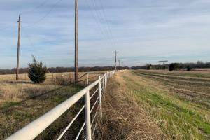 Pipe fencing along road frontage in Royse City (15 of 21)
