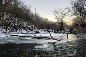 Snow on the Deep River (2 of 6)