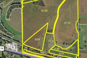 Farmland & Investment Opportunity - SE Edge Rochester (Parcel 1, 105.70 Acres)