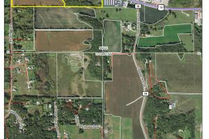 Farmland/Income-Producing/Investment Property, Rochester - Parcel 2 (60.19 Ac):  AgriData Aerial Photo (2 of 4)