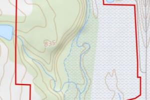 <p>Topography Map of Parcel</p>