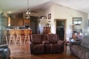 Brainard Acreage Living, open floor plan of the main house  (9 of 37)