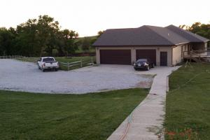 Brainard Acreage Living, 3 car garage of the main house.  (4 of 37)