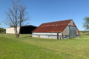 Barn number 2 on the property with ample space for storage on the 230 acre Purtis Creek Ranch. (38 of 48)