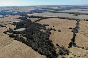 Yates Center Income Producing & Hunting Land - Woodson County KS
