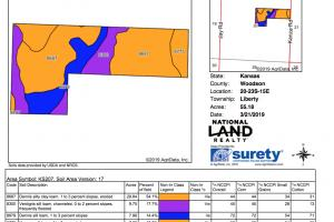 Yates Center Income Producing & Hunting Land in Woodson, KS (22 of 65)