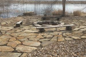 Burr NE Blast & Cast flagstone patio and fire pit (15 of 37)