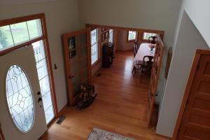 Douglas North Road Acreage Entry and French Doors to Formal Dining Room (41 of 58)