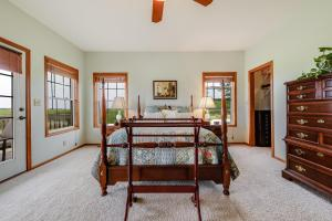 Douglas North Road Acreage Master Bedroom Walkout to Deck (17 of 58)