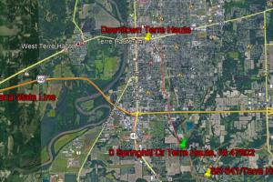 Terre Haute Commercial Development Land - Vigo County IN