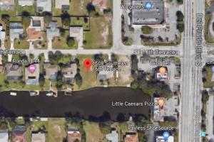 Salt Water lot with a sea wall in Cape Coral! ASSESSMENTS PAID IN FULL in Lee, FL (2 of 5)