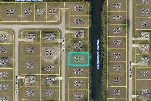 Wonderful Cape Coral Freshwater lot for sale!  - Lee County FL