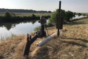 Electric Relift Pump on Tail Water Ditch (27 of 38)