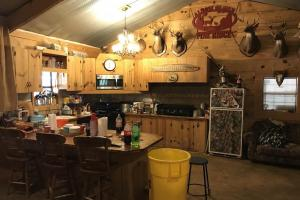 Kitchen in Custom Cabin on +/-80 Acre Kemper County, MS Hunting & Recreational Property (5 of 25)