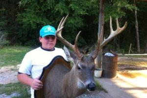 Mainframe 9 Point Buck Taken Near +/-80 Acre Kemper County, MS Hunting & Recreational Property With Custom Cabin and Pond (23 of 25)
