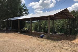 Storeage Shed on +/-80 Acre Kemper County, MS Hunting & Recreational Property With Custom Cabin and Pond (17 of 25)