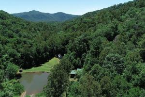 Views available from higher elevations of land - Secluded Mountain Cabin on 103 Acres with Pond and Creek (40 of 49)