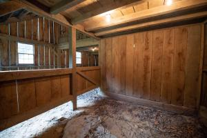 1 of 2 horse stalls - Secluded Mountain Cabin on 103 Acres with Pond and Creek (30 of 49)