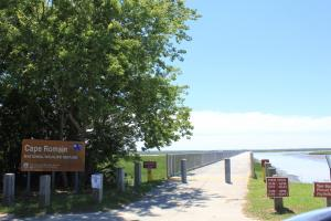 Public boat landing and ferry to Bulls Island is = (6 of 6)