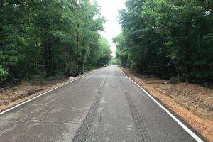 View looking East on Gatlin Road from the Northwest corner of the property. (1 of 11)