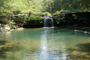 160 Acre Ozark Mountain Waterfall Hunting Tract in Stone, AR (1 of 49)