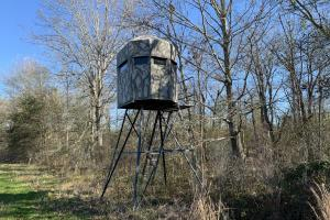2 man fiber glass deer blind (60 of 89)