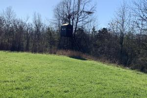2 man Fiber Glass Deer Blind in Food Plot (36 of 89)