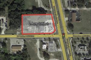 2 Ac Lighted Corner on Hwy 27 - Polk County, FL