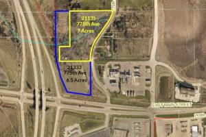I-35 Development Opportunity!  21133 and 21135 77th Ave, Albert Lea, MN - Freeborn County MN