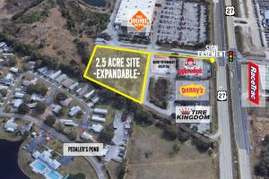 2.5 Acre Out Parcel with Signage on US HWY 27 - Polk County, FL