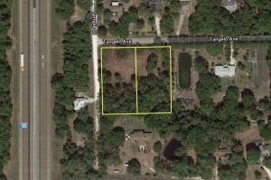 Large Corner Lot in Canaveral Groves