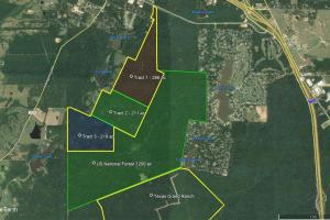 Residential Development Adjoins National Forest