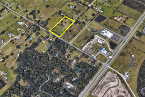 5+ Acres Mixed Use (8-18 u/acre) Multifamily FLU land - 4055 Reaves Rd. - Osceola County, FL
