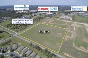 View to the Southwest towards major retailers on US 301 (Gall Blvd.) and Advent Health (7 of 20)