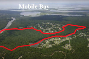 Waterfront Spanish Fort Bay Minette Creek Tract - Baldwin County, AL
