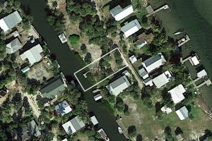 Vacant Island Lot With Dock