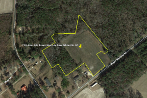 7.26 Acres Whiteville - Columbus County, NC