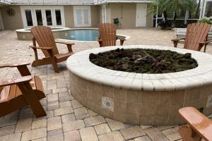 Gas fire pit in pool area (41 of 47)