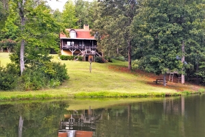 Log Home with Private Lake - Sumter County SC