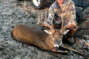 Buck havested in 2016 bow season.  (15 of 27)