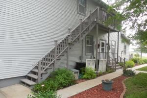 <p>Stairwell leading to second floor.</p>