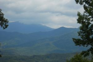 Views of Roan Mountain and Mount Mitchell - Mitchell County NC