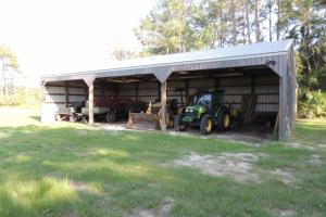 <p>Tractor shed</p>