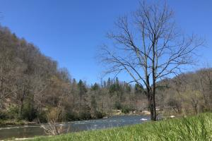 North Toe River Frontage with Excellent Garden Spot - Mitchell County NC